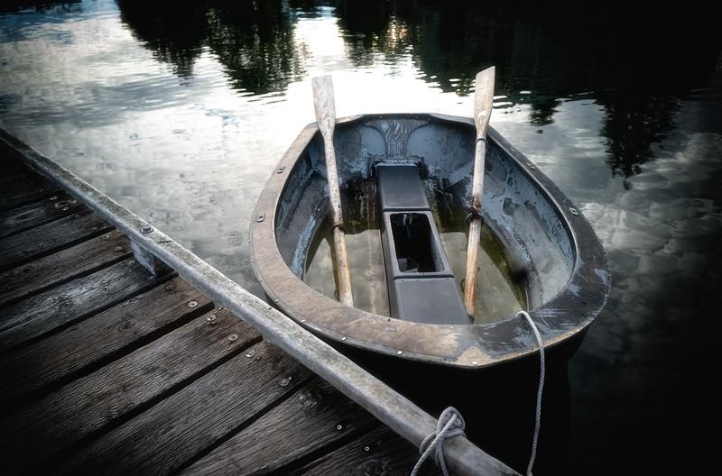Rowboat on Bainbridge Island