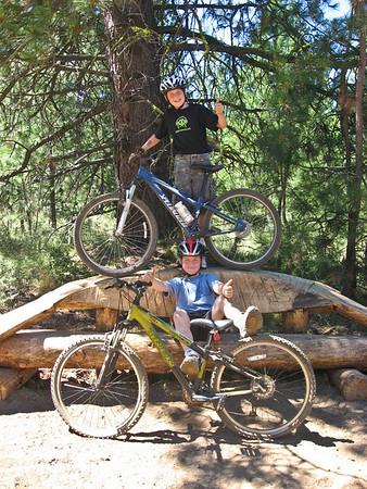 Mtn. Biking outside Bend