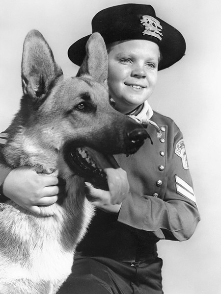 Rusty and Rin-Tin-tin 1957