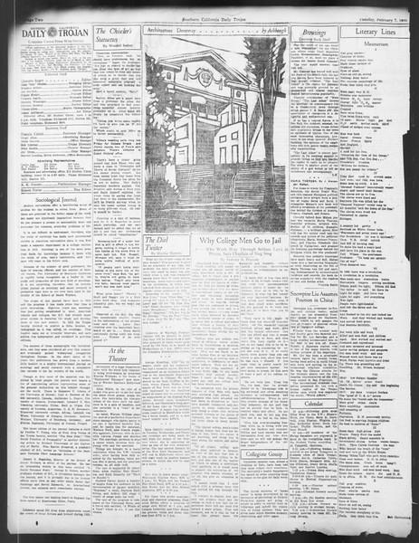 Daily Trojan, Vol. 24, No. 80, February 07, 1933