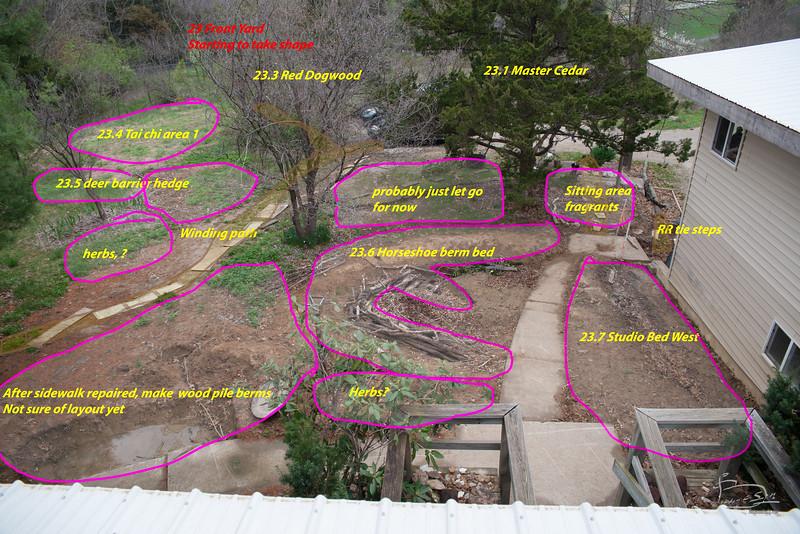 Front yard taking shape