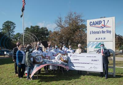Christus Trinity Mother Frances Hospital Donation to CAMP V by Sarah A. Miller