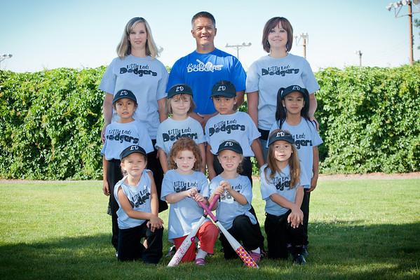 Little Lady Dodgers 2011