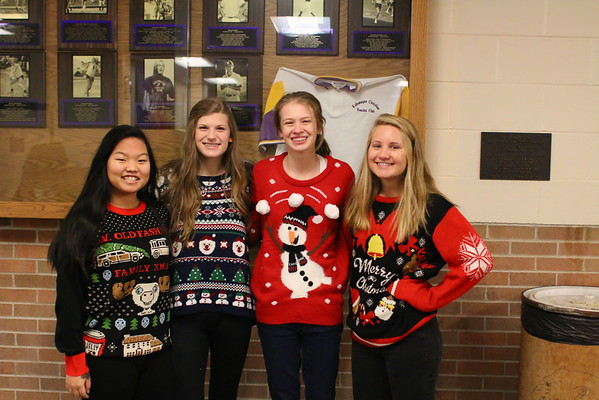 Christmas Sweater Day at KCHS - 12/16/16