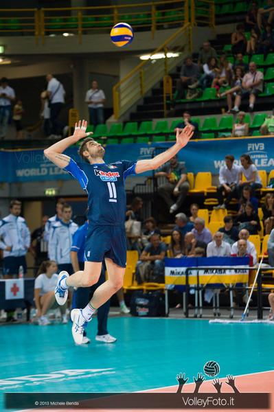 battuta Cristian Savani [ITA] - Italia-Iran, World League 2013 - Modena