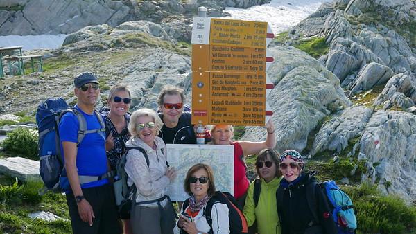 2018 Juli - Wandervögel: Ambri Piotta - Cadlimo Hütte - Oberalppass