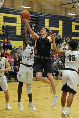 West Salem vs. West Albany Boys HS Basketball
