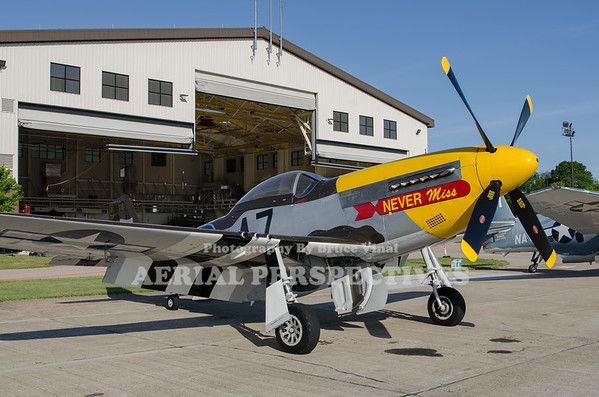 """P-51 Mustang """"Never Miss"""""""