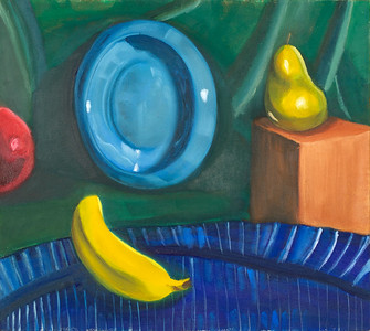 """""""Fruits"""" (oil on canvas) by David Fleshman"""
