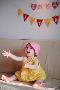親子寫真|EMMA週歲