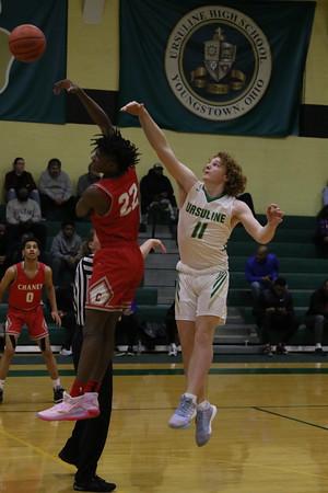 Ursuline vs Chaney Boys Basketball 1-14-20