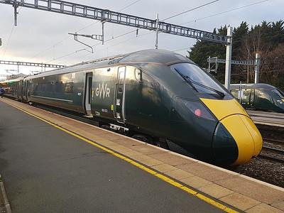 800 022, Swindon Station