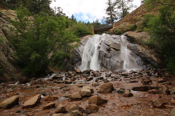 Colorado - North Cheyenne Cañon Hiking - 6/30/2016