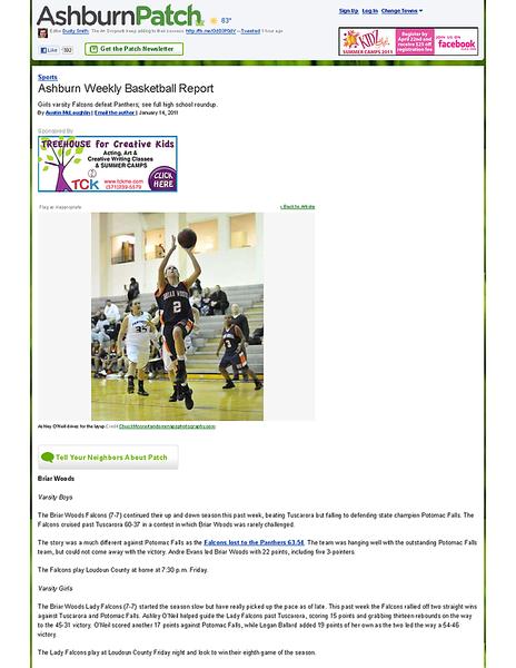 Ashburn Weekly Basketball Report - Ashburn, VA Patch.png