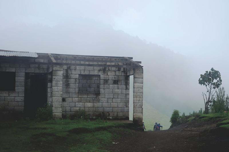 Day 1 trek to Lake Atitlan. September 2018.