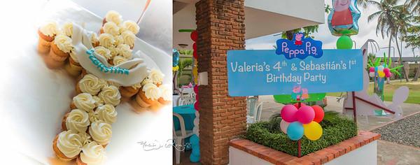 Album Cumpleaños Sebastian y Valeria