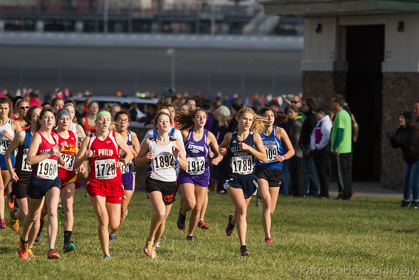 2015-11-07 Hillsdale Academy Varsity Cross Country at State Meet