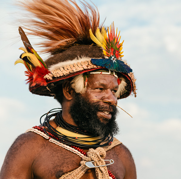 Papua New Guinea Represents on the Playa