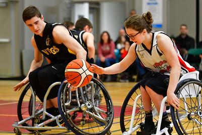 Basketball en fauteuil roulant