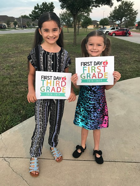 Everliegh and Kenzley | 3rd and 1st | Plain Elementary School