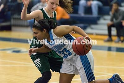 Girls Basketball: Loudoun Valley vs. Millbrook 2.27.16 (by Chas Sumser)