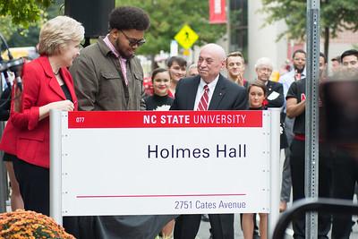 Holmes Hall Dedication - Nov 2018