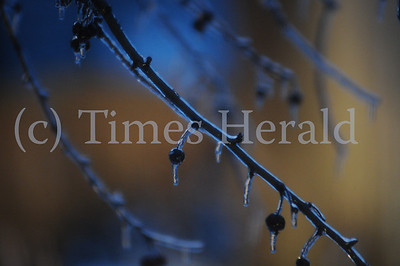 Freezing rain causes road closures and power outages