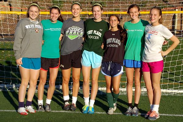 Varsity Soccer Senior Day 2013