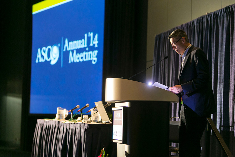 Chicago, IL - The 2014 ASCO Annual Meeting -   Genetics and Genomics pre-Annual Meeting Seminar  at the American Society of Clinical Oncology Annual Meeting here today, Thursday May 29, 2014. More than 28,000 physicians, researchers, health care professionals, cancer survivors and patient advocates are expected to attend the 50th Anniversary meeting at the McCormick Convention Center. The Annual Meeting highlights the latest findings in all major areas of oncology from basic through clinical and epidemiological studies.  Photo by © ASCO/Todd Buchanan 2014 Technical Questions: todd@medmeetingimages.com