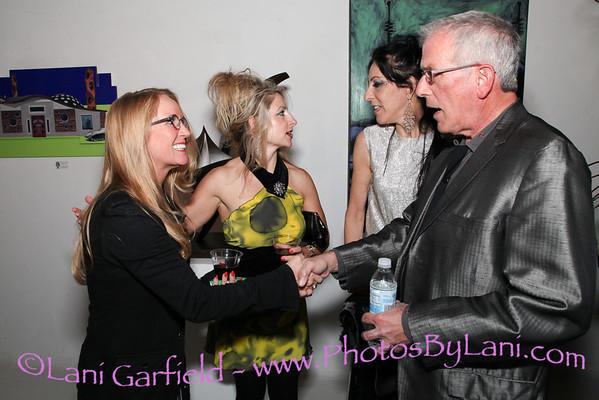 Savage Art Gallery during Modernism Week 2/16/13