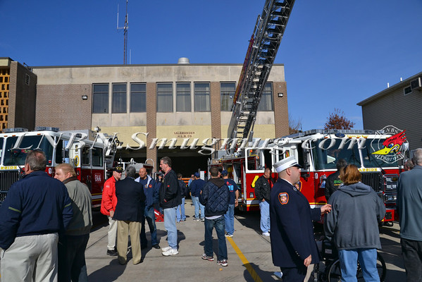 Oceanside F.D. Dedication Ceremony of Tower Ladder 244 & Ladder 2442  11-13-11