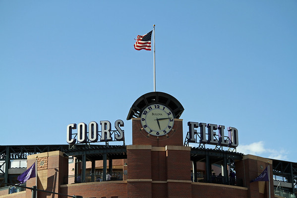 BASEBALL PARKS - COORS FIELD - COLORADO ROCKIES