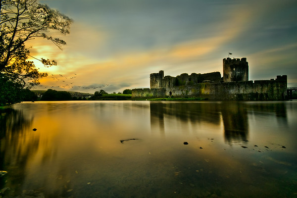 CAERPHILLY LANDSCAPE IMAGES