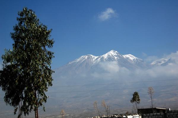 El Chachani, Peru