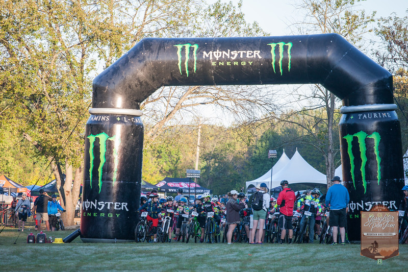 Slaughter Pen Jam Mountain Biking Festival closed with a full day of races starting with the Junior 6 mile course and continued with the CAT 3 9 mile, CAT 2 18 mile, and CAT 1 27 mile courses.