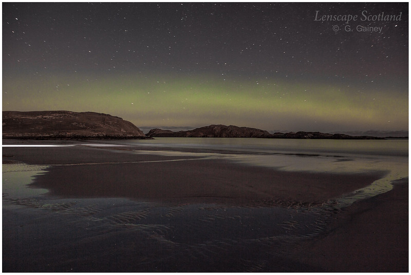 Aurora Borealis, Reef Sands, Isle of Lewis