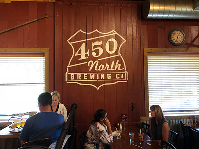 450 North Brewing Co. in Columbus, Indiana (August 2018)