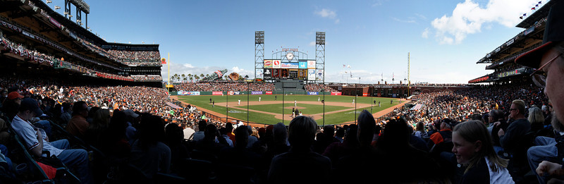 SF Giants Opening Day 2012