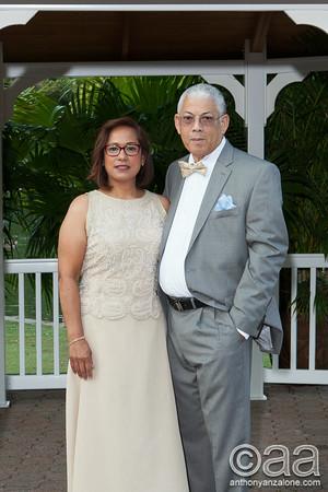 Virginia and Winston's 40 Anniversary