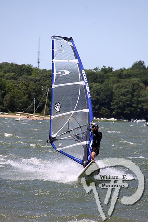 Windsurfing — off jackknife harbor beach — Chatham, MA 7 . 14 - 2011