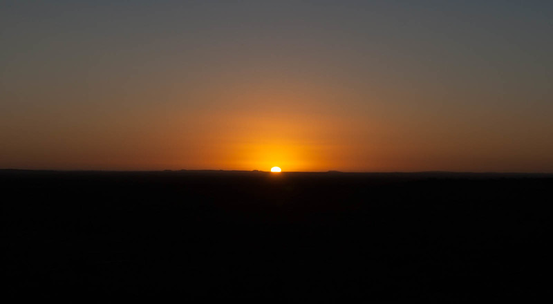 Dawn from Sunrise View, Kennedy Ranges
