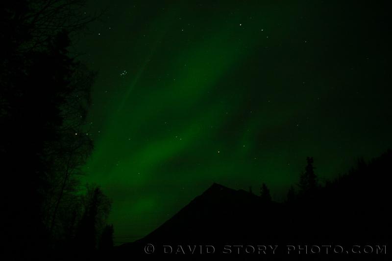 Aurora over Cecil Rhode