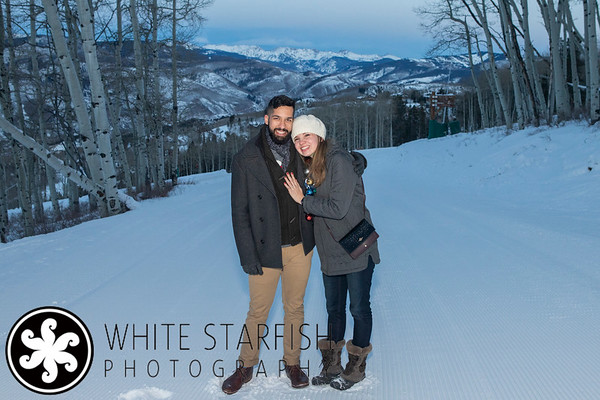 Beaver Creek Proposal - Zach's Cabin - Shabaaz and Michelle