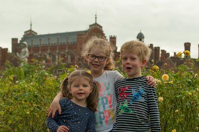 20171014 - Hampton Court Palace and Steam Train