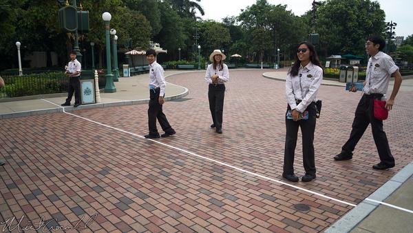 Disneyland Resort, Hong Kong Disneyland, Main Street USA, Rope Drop, Rope, Drop