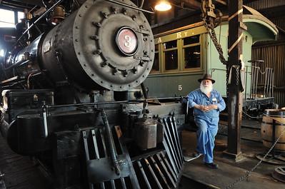Railtown 1897 State Historic Park, August 30, 2015