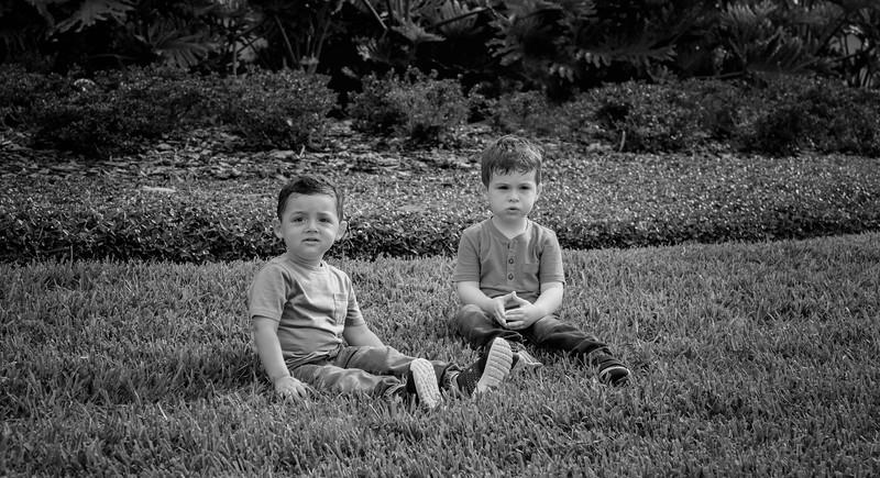 Regev Herzog kiddos B&W.jpg