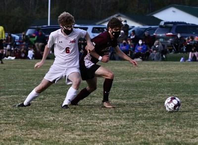 AMHS Boys Varsity Soccer vs MR photos by Gary Baker