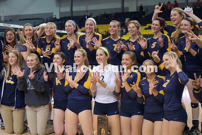 Volleyball 4A State Championship James Wood vs. Loudoun County (11.22.14) Scudder