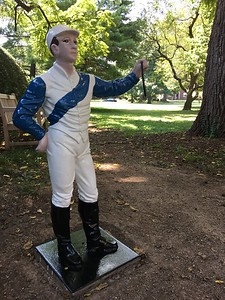 Ashland Garden Jockey